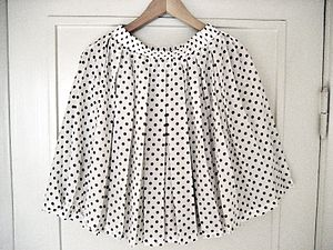Image showing b/w polka dot skirt