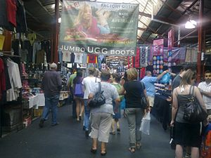 English: Queen Victoria Market, Melbourne shed B