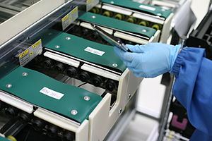 Seagate drives being tested, Seagate Wuxi Chin...