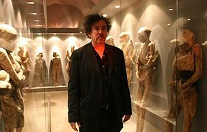 Tim Burton walks among the dead at Guanajuato'...