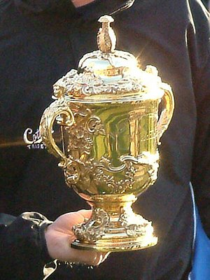 The Rugby World Cup trophy - the William Webb ...