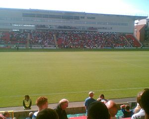 The West Stand at Brisbane Road (Matchroom Sta...