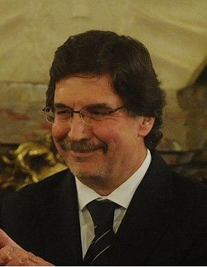 Español: Alberto Sileoni, Ministro de Educació...