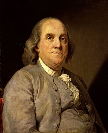 Portrait of Benjamin Franklin