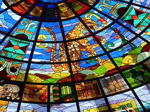 Cancun - Zona Hotelera. Plaza Kukulkan - Jagua...