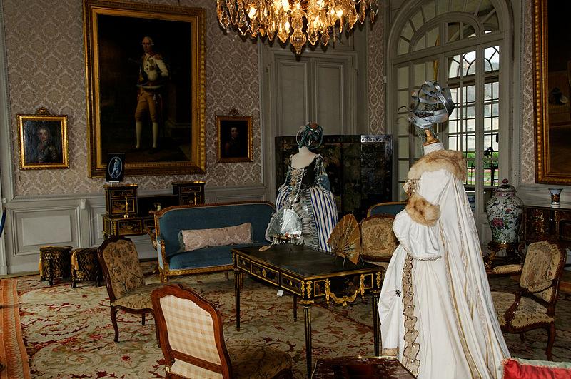 Château de Valençay Salon Bleu