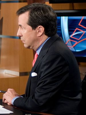 Chris Wallace during an interview with Chairma...