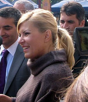 English: Elena Udrea, Minister of Tourism (200...