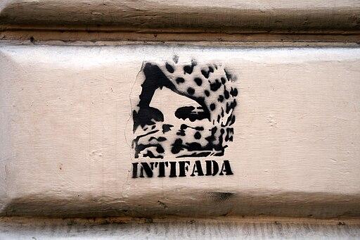 Intifada stencil
