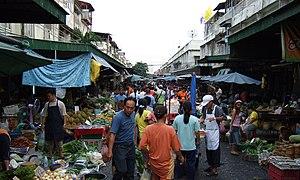 Klong-Toey Market, Bangkok