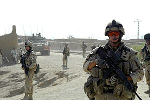 KANADAHAR, Afghanistan – Canadian Master Bomba...