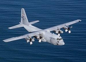 The Lockheed C-130 Hercules serves as the prim...