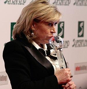 Marianne Faithfull at the Women's World Award ...