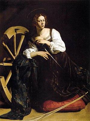 Michelangelo Merisi da Caravaggio - St Catheri...