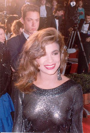 Paula Abdul. Photo taken at the 62nd Academy A...