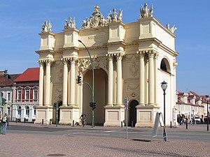 Potsdam, Brandenburger Tor Fotografiert von Di...