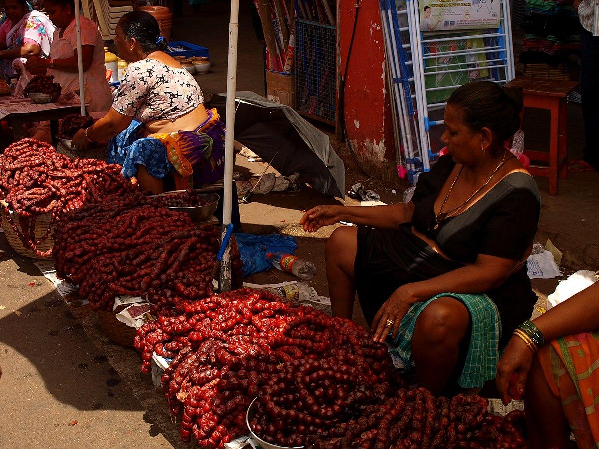Goan Sausage Wikipedia