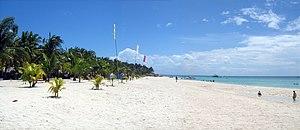 A view of Sugar Beach resort in Santa Fe, Cebu...
