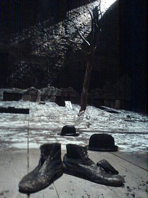 Waiting for Godot set at Theatre Royal Haymark...