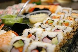 English: Western Sushi found at Wegmans Superm...