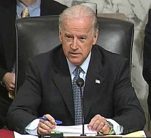 Senator Biden gives his opening statement and ...