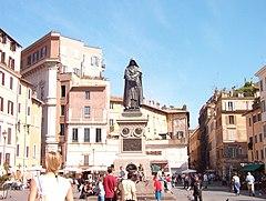 Piazza Campo de' Fiori, a Roma