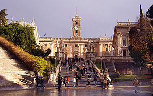 English: Capitoline Hill, Rome. Image:Fratelli...