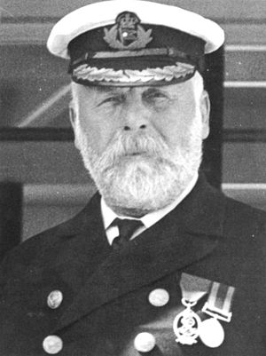 Captain Smith of the Titanic. This photo appea...