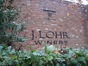 Exterior of the California winery J. Lohr in P...