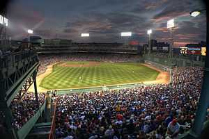 The Fenway stadium in Boston is the Holy of Ho...