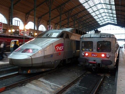 разные поезда