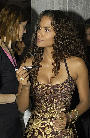 Halle Berry 2004 in Hamburg Germany