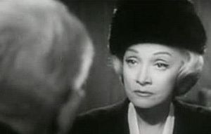 Screenshot of Marlene Dietrich from the film J...