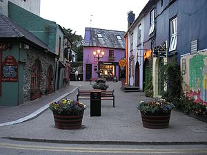 KINSALE -street-. Co CORK.IRELAND.