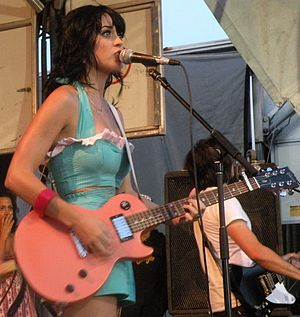 Singer-songwriter Katy Perry during Warped Tou...