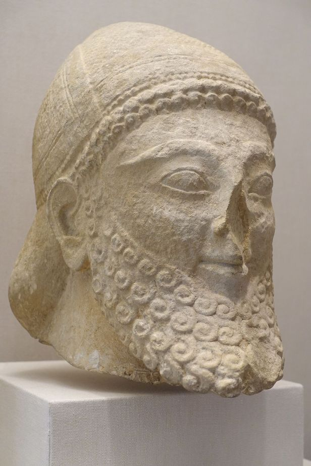 Legion of Honor - Joy of Museums - Head of Bearded Man (Cypriot)