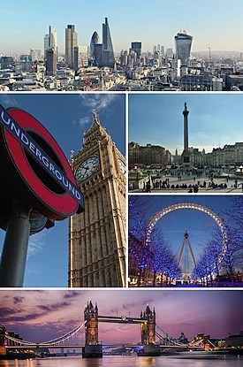 London Montage Clicking On An Image In The Picture Causes The Browser To Load The