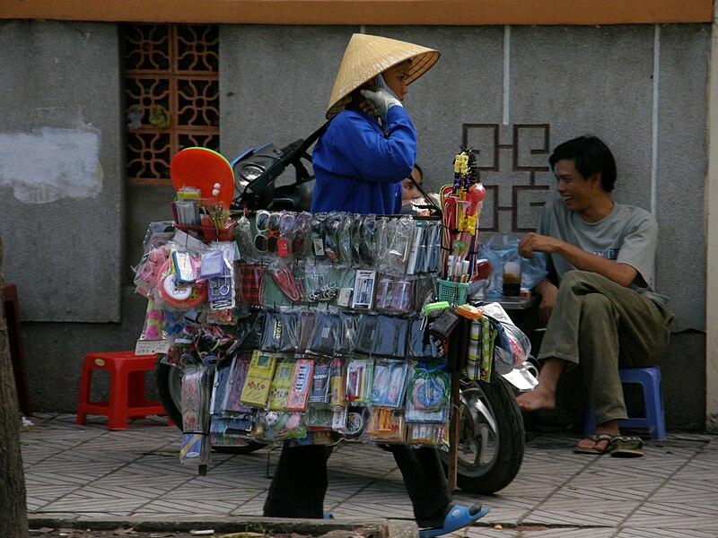 רוכלת בויטנאם