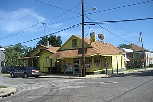 Corner grocery store, Pensacola, Florida.
