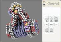 A Snapshot of the QuteMol open source software...