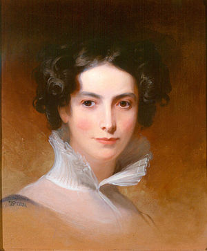 English: Painting of Rebecca Gratz by Thomas Sully