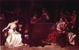 Act III of Shakespeare's Hamlet: King Claudius...