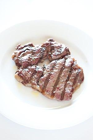 BBQ steak.