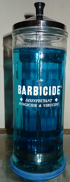 Barbicide Jar
