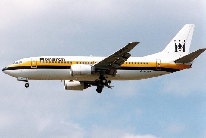 Boeing 737-33A, Monarch Airlines AN0204567