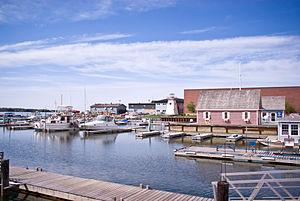 Charlottetown Harbour, Prince Edward Island.