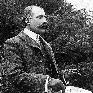 English: English composer Edward Elgar, likely...