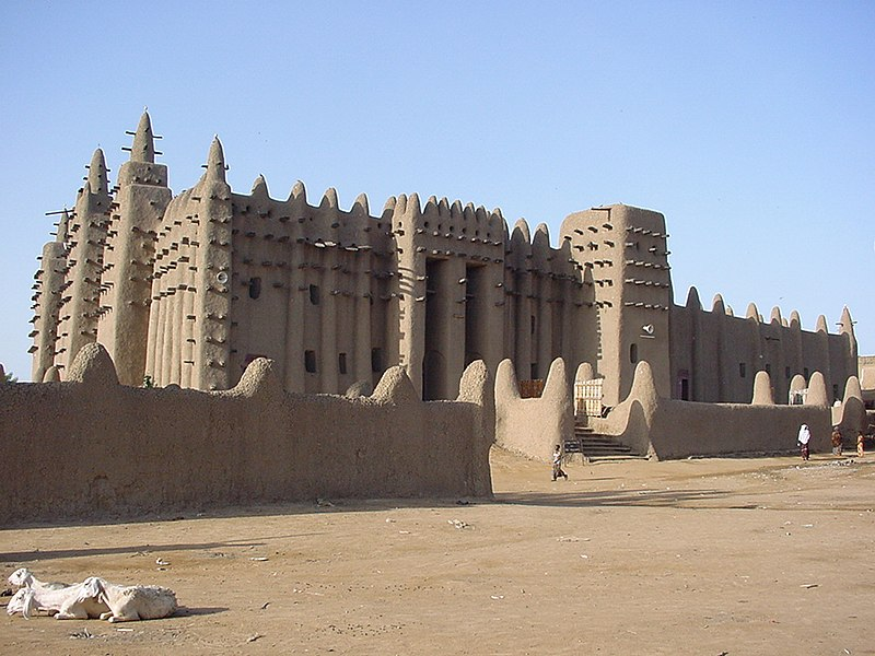 ملف:Great Mosque of Djenné 1.jpg