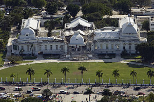 The Haitian National Palace (Presidential Pala...
