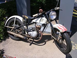 Harley-Davidson Hummer single-cylinder motorcycle